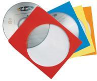 Koperty papierowe na CD/DVD 100 sztuk ednet E1B050