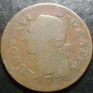 sol 1789 LUDWIG XIV Francja
