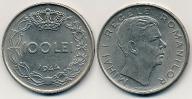 Rumunia 100 Lei - 1944r ... Monety