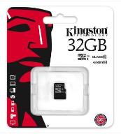 32GB KARTA KINGSTON microSDHC 45MB/s 10 CLASS Wwa