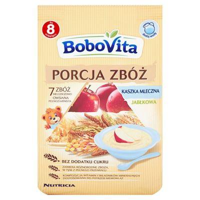 BoboVita Kaszka mleczna 7 zbóż wielo/ows/jabł 210g