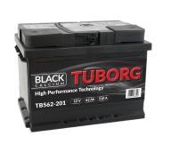 AKUMULATOR TUBORG BLACKCALCIUM 62AH 510A L+
