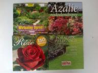 Płyta CD poradnik kwiaty ogród azalie róże trawnik
