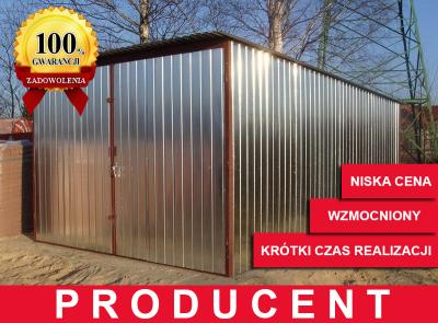 Garaż Blaszany Blaszak 3x5 Warmińsko Mazurskie 5625571725