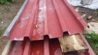 BLACHA TRAPEZ WYSOKI z demontażu 1,0 mm 169 m2