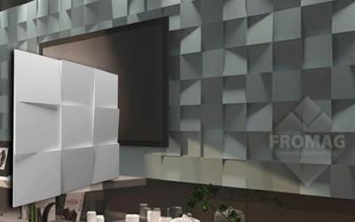 3d Panele Dekoracyjne 3d Rubik Wallstar Kwadraty