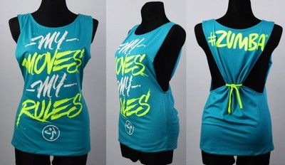 Aktualne ZUMBA koszulka na zumbę top S, ,L,XL - 6815299906 - oficjalne AX67