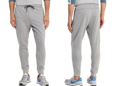 NIKE SPODNIE NSW JOGGER FLC CLUB (804408063) Męskie | cena 179,99 PLN, kolor szary | Spodnie Nike