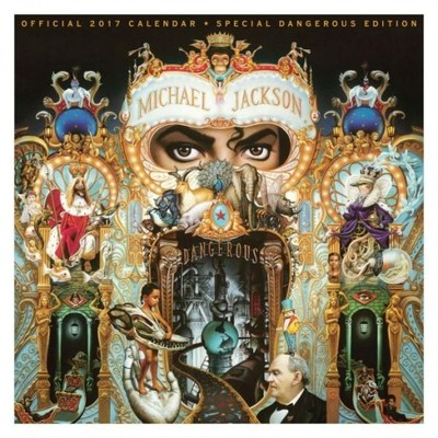 Michael Jackson - oficjalny kalendarz 2017