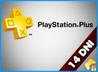 PLAYSTATION PLUS 14 DNI PS4 PS3 /AUTOMAT/ PEWNIAK