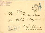 1934 - Izbica n.Wieprzem (Krasnystaw) - polecony