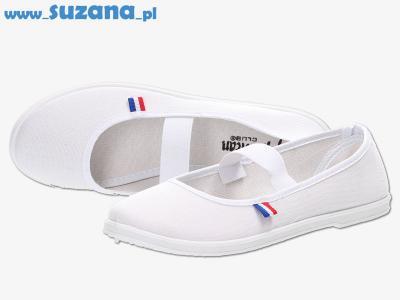 bf501cab96f9c 45% Markowe baleriny czeszki AMERICAN białe r32 - 5391636312 ...
