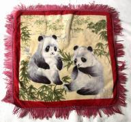 Poszwa chińska na poduszkę pandy oryginalna  !!!