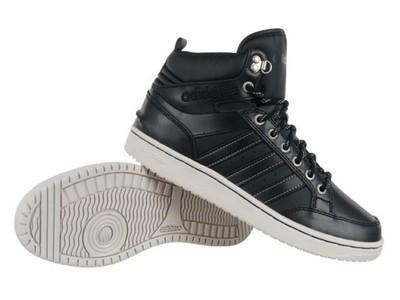 be24fccb Buty Adidas NEO Mid męskie skórzane defekt 44 2/3 - 6859349477 ...