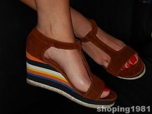 nowy koncept wiele stylów na stopach o espadryle cropp