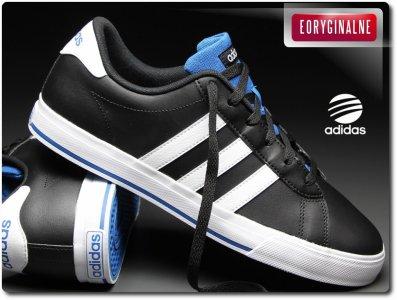 Buty męskie Adidas Daily F99637 NEO, Czarne