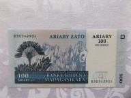 MADAGASKAR 100 ARIARY 2004 r. STAN  UNC
