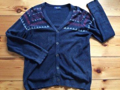 Sweterek zapinany ZARA rozm.L/XL