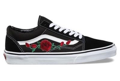 Vans roses róże haft r36 44 OKAZJA! HIT!!! 42