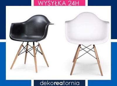 Fotel Krzesło insp. DSW Eames kolory NOWE Białystok