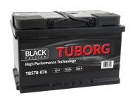 AKUMULATOR TUBORG BLACKCALCIUM 78AH 760A P+