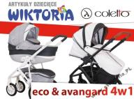 COLETTO VERONA ECO AVANGARD 4w1 +KIDDY EVOLUNA