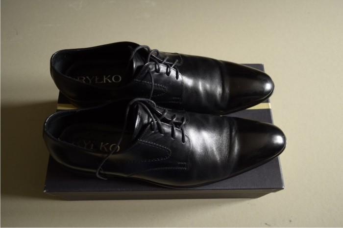 2c438bc5 Skórzane buty Ryłko rozm 44. - 7004808655 - oficjalne archiwum allegro