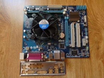 GIGABYTE GA-H61M-S2PV + i3-3240 + 4G DDR3 + Cooler
