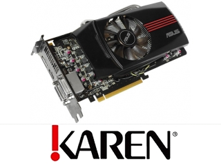 Karta Radeon 6850 Asus 1GB 790/4000MHz DVI HDMI