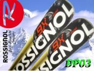 ROSSIGNOL narty WORLD CUP DP03 160 cm+AX2 RACE j.