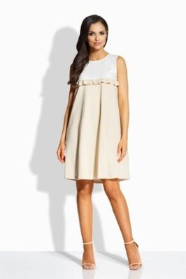 f5358927 Elegancka sukienka WESELE ciążowa L - 6845211431 - oficjalne ...