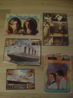 Karteczki do notesu - TYTANIC - lata 90 - zestaw
