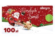 Karta Podarunkowa Boże Narodzenie - 100 zł
