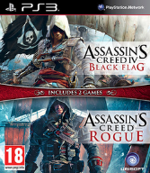 Assassins Creed IV+Rogue Double Pack Ps3 Nowa