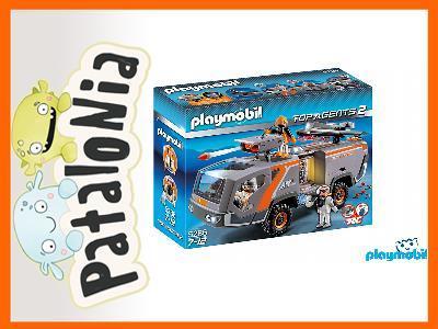 Playmobil Spy Team Commander Truck 5286 Wawa 24h