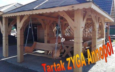 Altana 4x3 Zestaw Ogrodowy Huśtawka Dębowa 6148298241