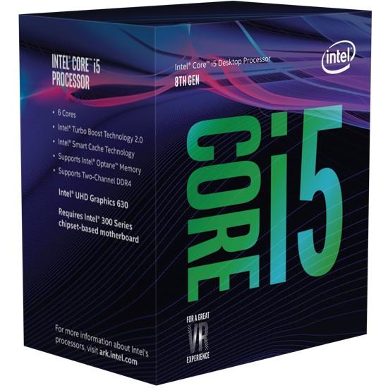 INTEL Core i5-8400 BOX 2.80GHz, LGA1151 OD RĘKI!!