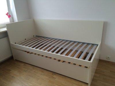 łóżko Pojedyncze Ikea Flaxa 6577316567 Oficjalne