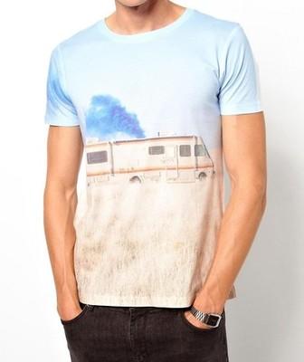 mh58 T-shirt męski exAsos breaking bad nadruk 44