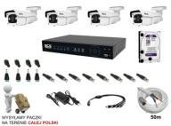 ZESTAW 4 KAMER BCS-V-THA7200IR3-B 2MPx Full HD