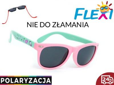 ELASTYCZNE Okulary dla DZIECI POLARYZACYJNE z UV Zdjęcie