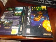 Stara Gra PS One Thunderstrike2 1995 Czarna Płyta