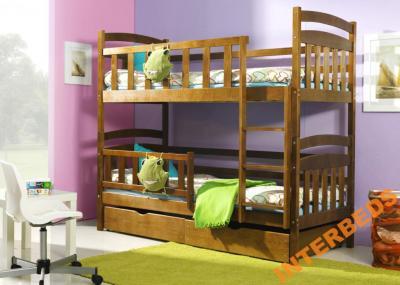 łóżko łóżka Piętrowe Kacper 2 B Expres Wysyłka