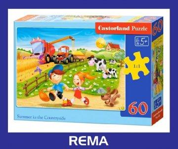Puzzle Castorland 60 elem. Kot w Butach