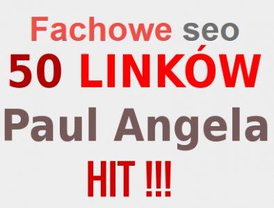50 MOCNYCH LINKÓW z listy PAULA i ANGELI HIGH PR