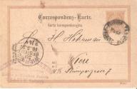 Karta korespondencyjna-TARNÓW-1897r.