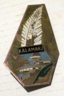 ZSMP Szklarska Poręba Kałamarz - stara odznaka .