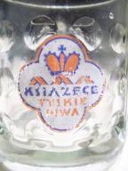 Kufel Książęce Tyskie Piwa, przedwojenny, ostatni
