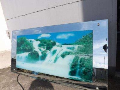 Obraz W Lustrze Z Szumem Wody Podswietlany 6319177212 Oficjalne Archiwum Allegro