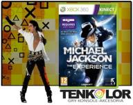 MICHAEL JACKSON THE EXPERIENCE HD KINECT XBOX 360